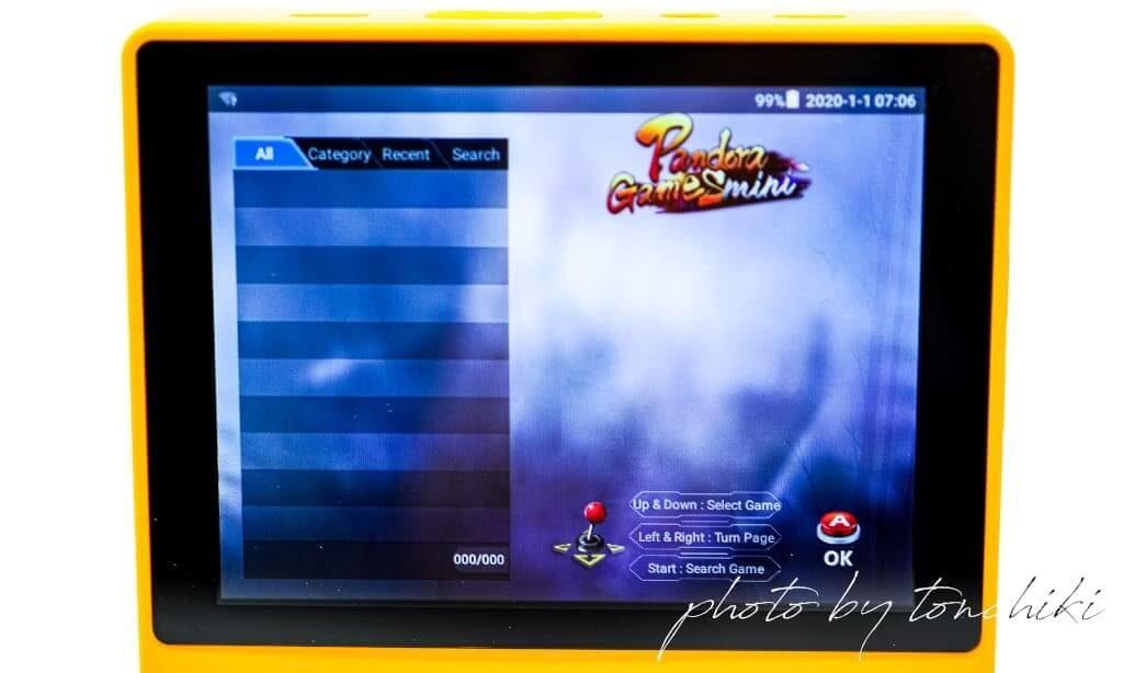 Super Retro Game Handheld 内蔵ゲーム