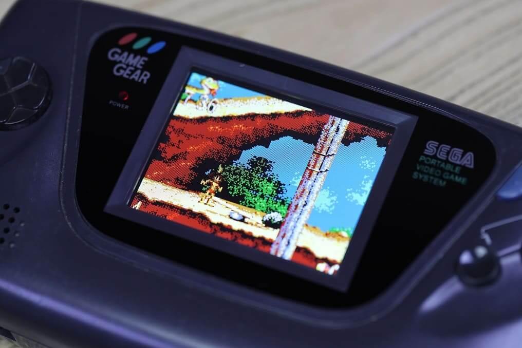 ゲームギア LCD導入・ オーバーホール済み