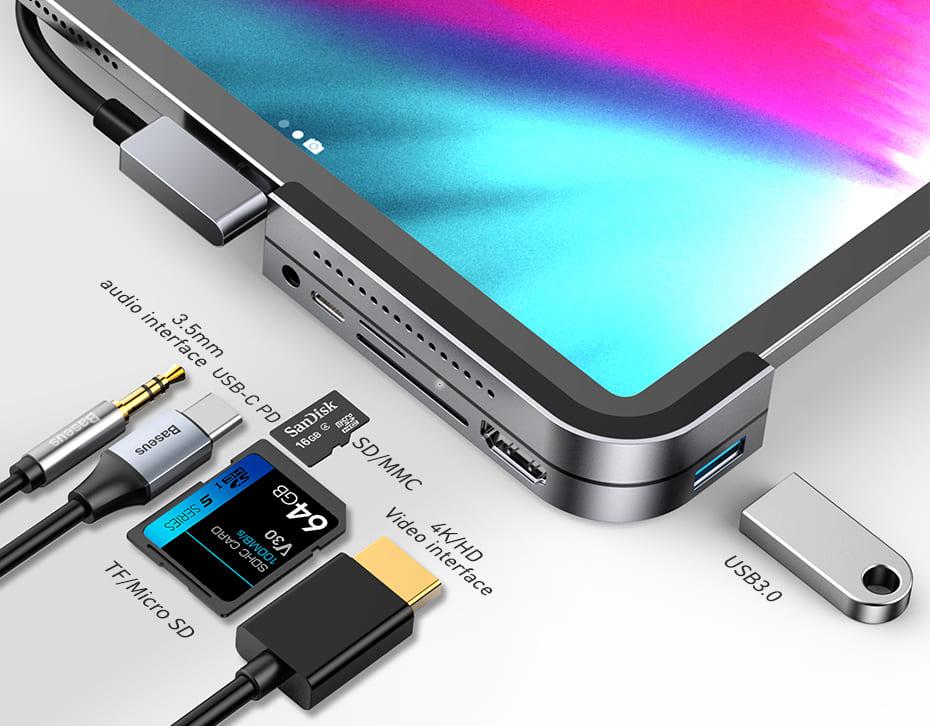 iPad Pro USB Type-C ハブ