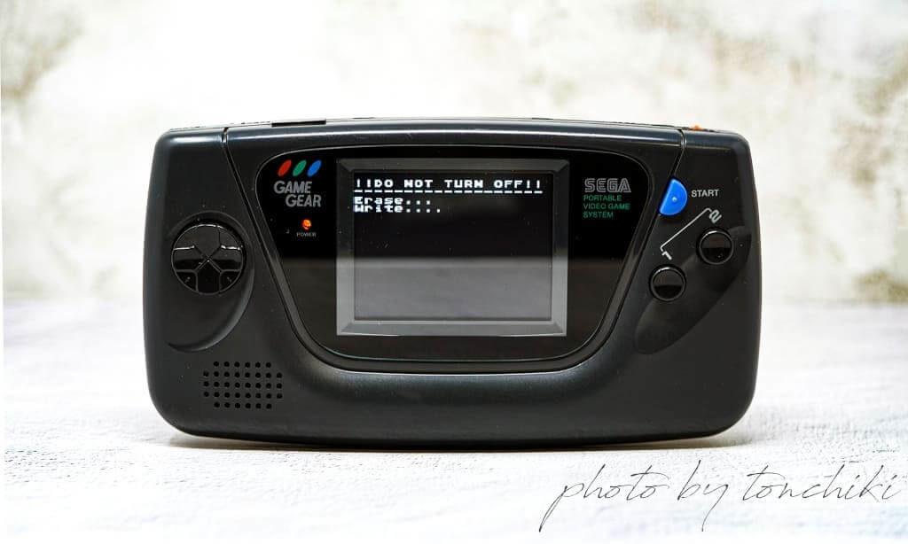 ゲームギア EverDrive-GG 使い方