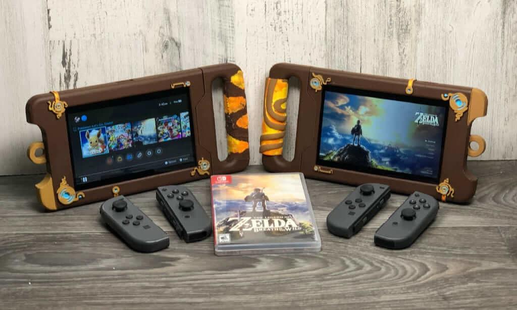 Nintendo Switchドック ゼルダの伝説