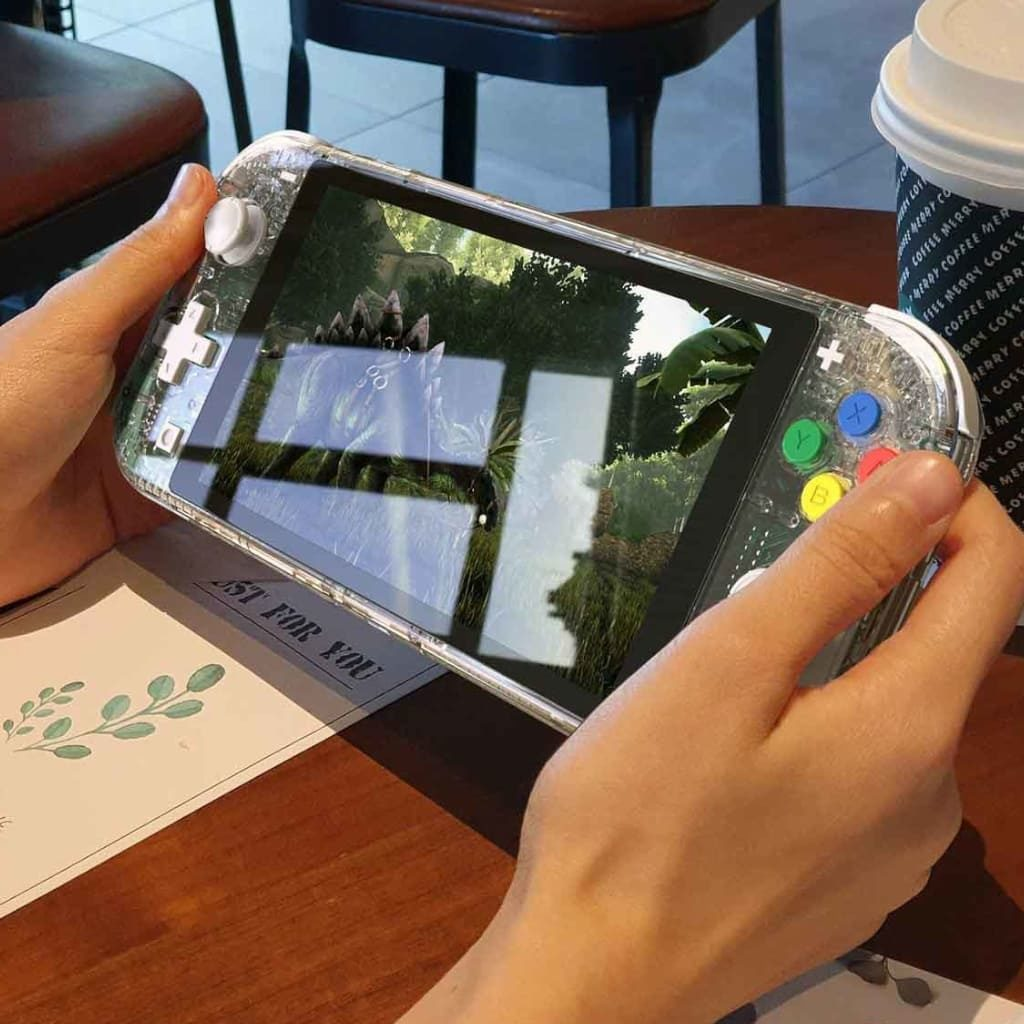 Nintendo Switch Lite スケルトンカラー シェル