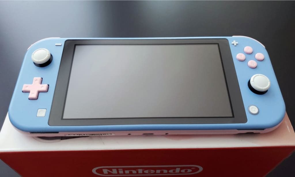 Nintendo Switch Lite 外装シェル