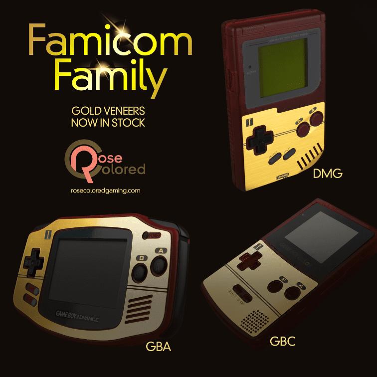 ゲームボーイシリーズ ファミコンスモデル