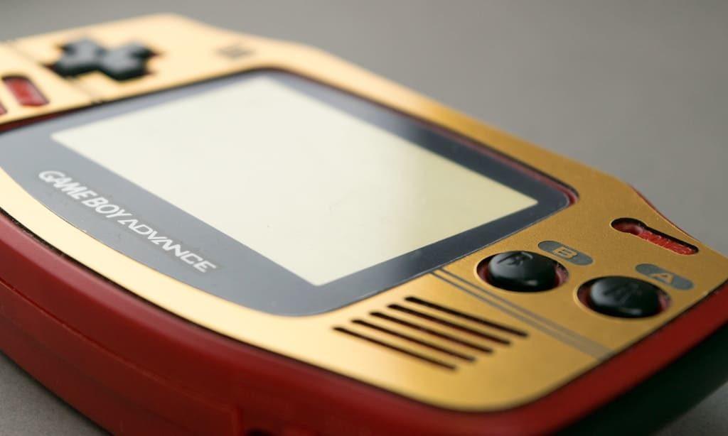 Famicon-style Gold Veneer