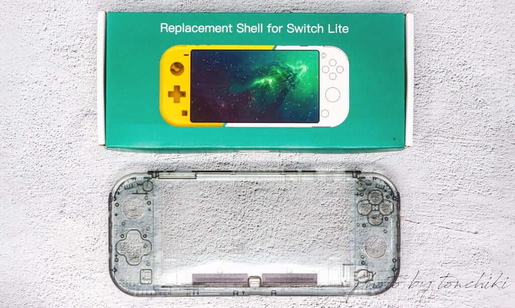Nintendo Switch Lite 外装シェル交換