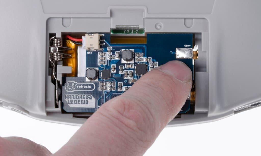 ゲームボーイアドバンス 内蔵バッテリー