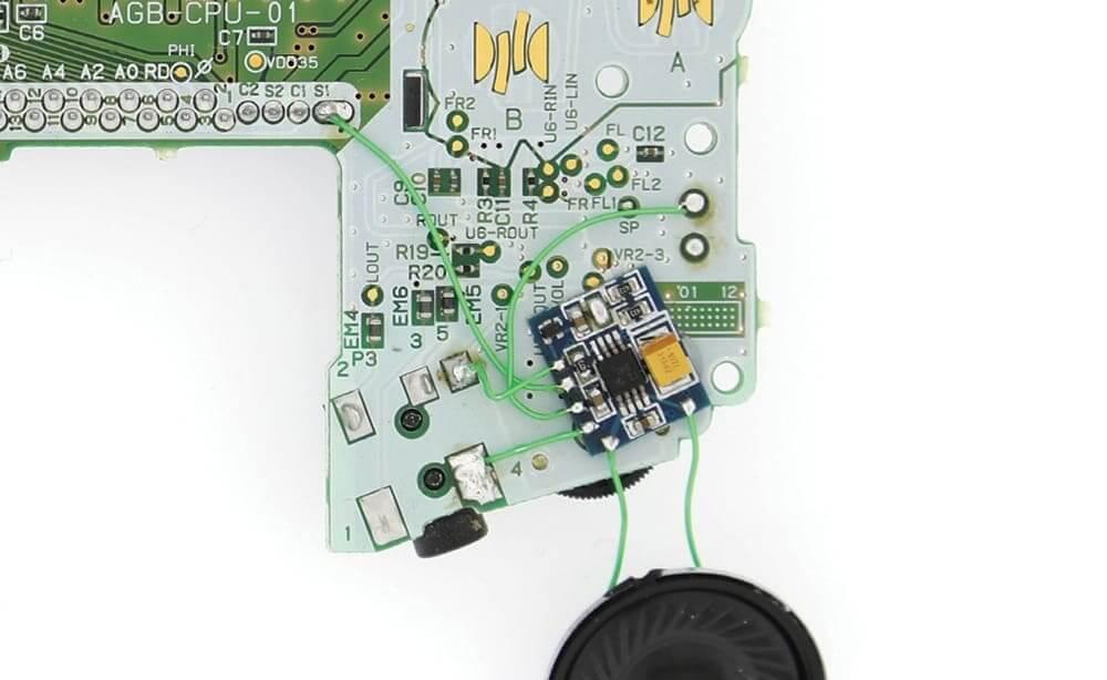ゲームボーイアドバンス AMPモジュール