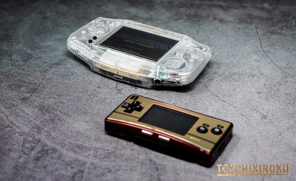 EverDrive GBA X5 mini 対応するゲーム機