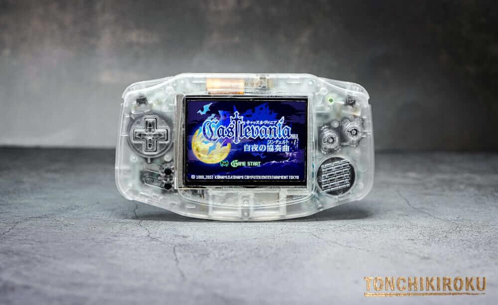 EverDrive GBA X5 mini ゲームボーイアドバンス