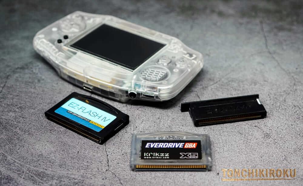 EverDrive GBA X5 mini 比較してみて