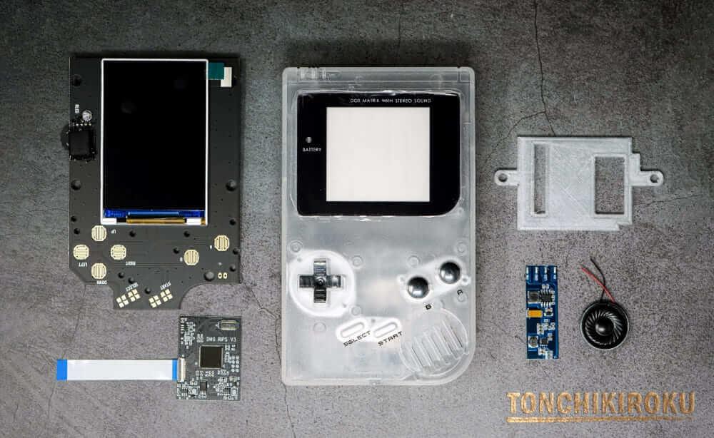 初代ゲームボーイ IPS液晶交換キット