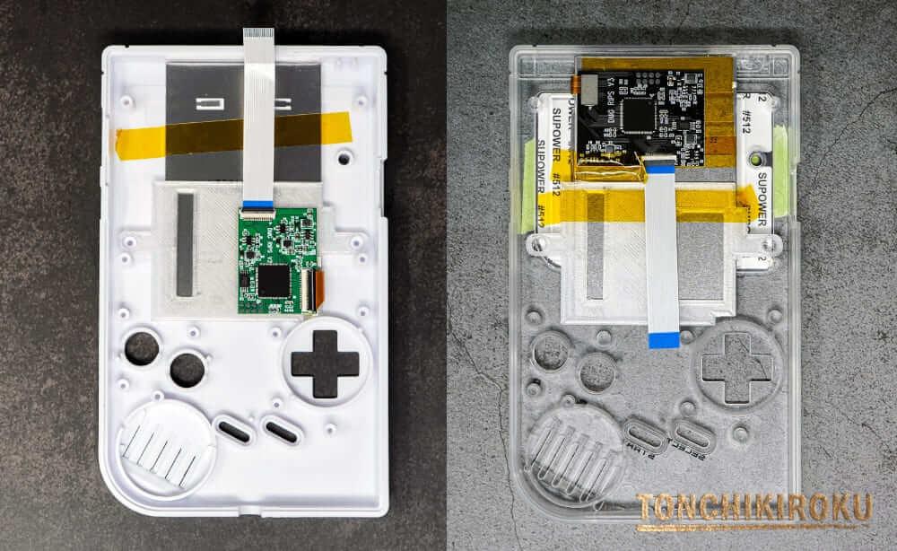 2つのIPS液晶キット 取り付け例