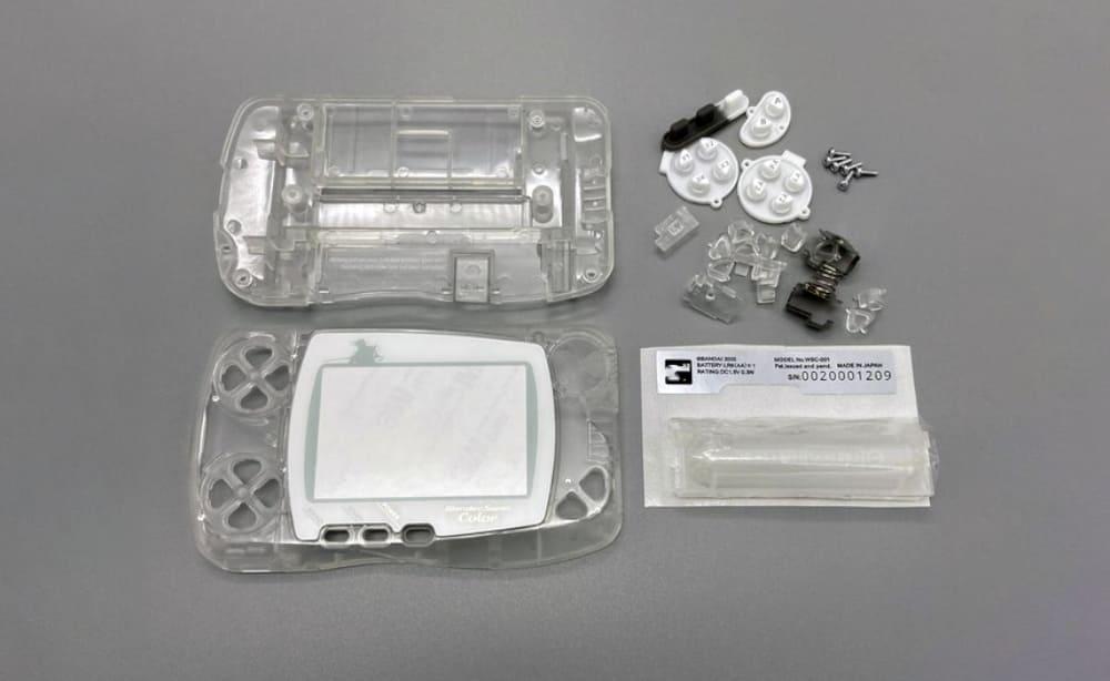 ワンダースワンカラー 電池ボックスも付属