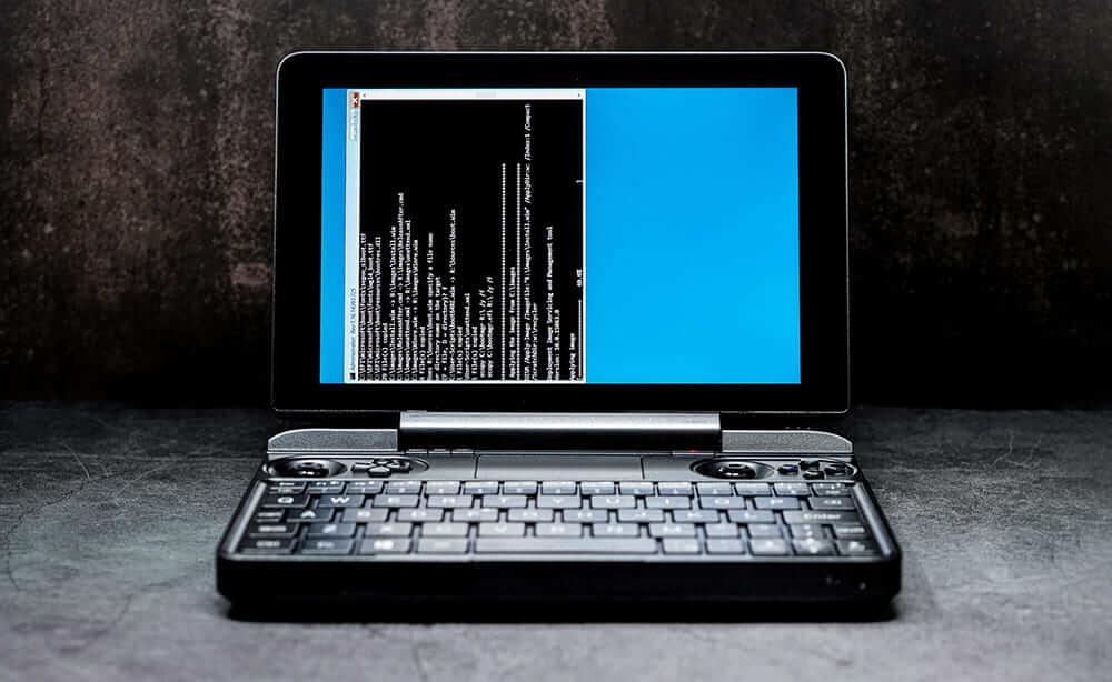 GPD WIN Max 分解 SSD交換