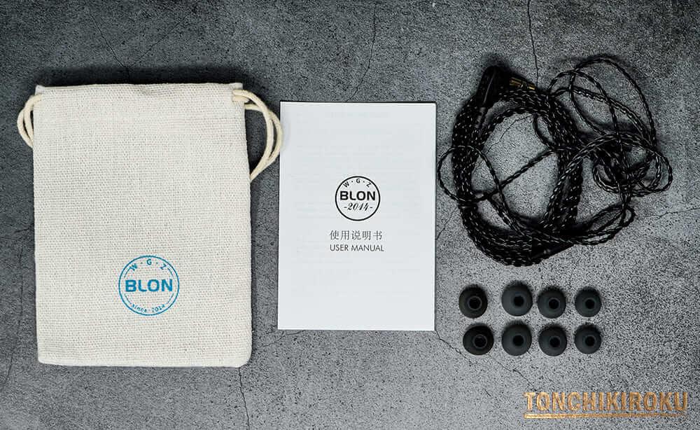 BLON BL-05S 付属品