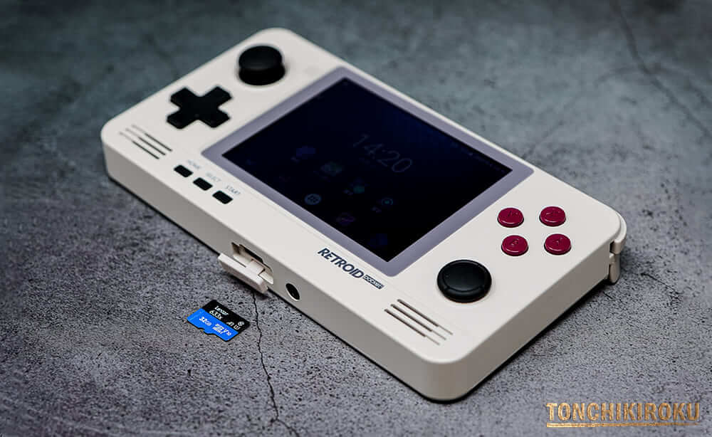 Retroid Pocket 2 microSDカードデータ移行