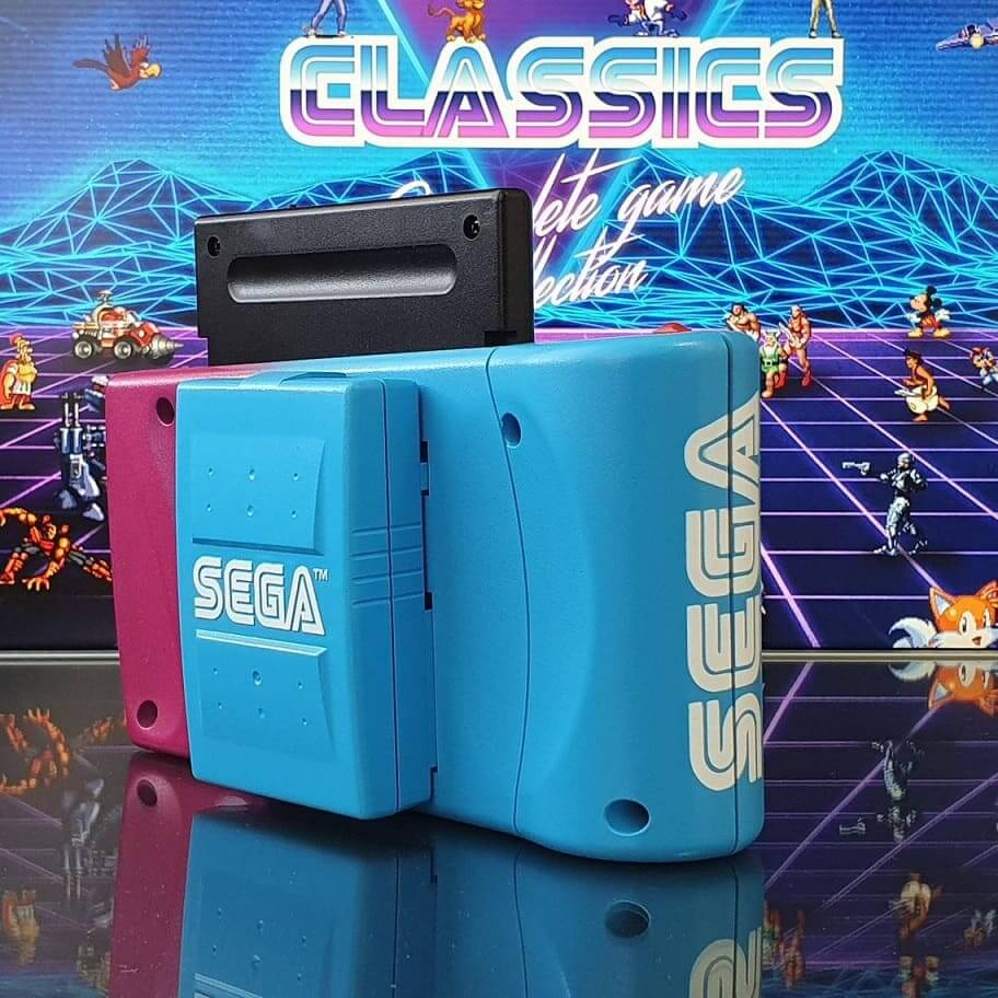 Sega Nomad RetroWave Edition