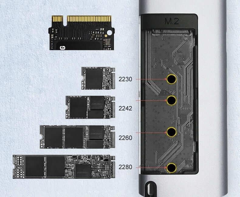 SSD 多機能ストレージハブ