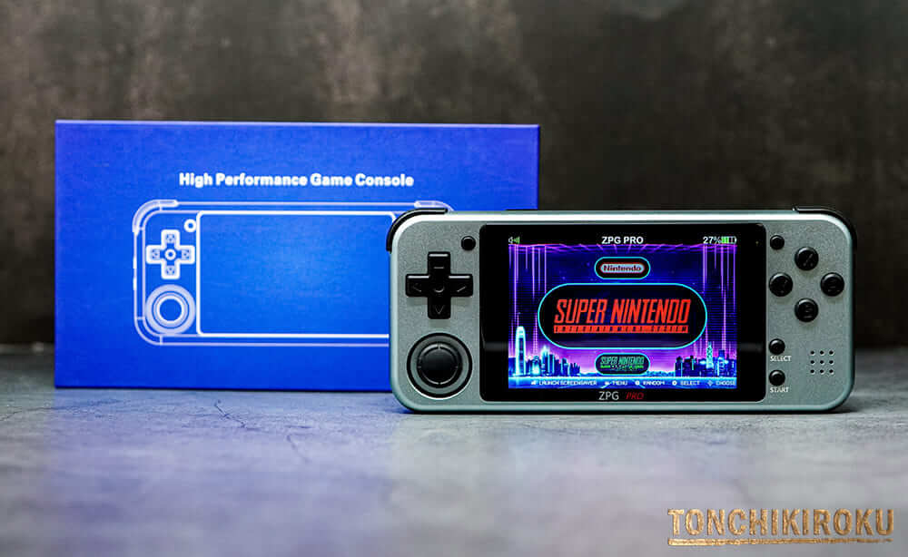 Z-Pocket Game Pro(ZPG PRO)実機レビュー