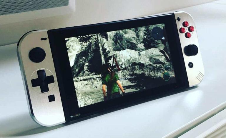Nintendo Switch アルミバージョン