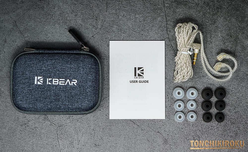 KBEAR LARK 付属品