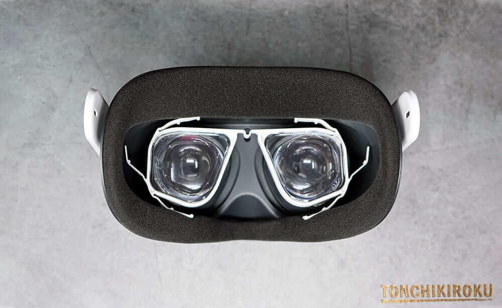 Oculus Quest 2 メガネいらない
