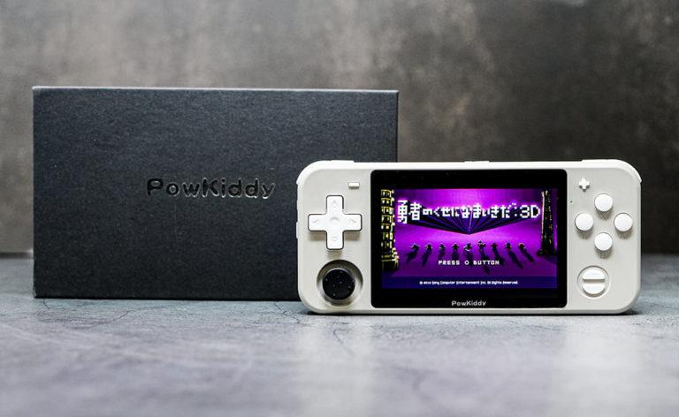 中華ゲーム機「Powkiddy RGB10」 レビュー