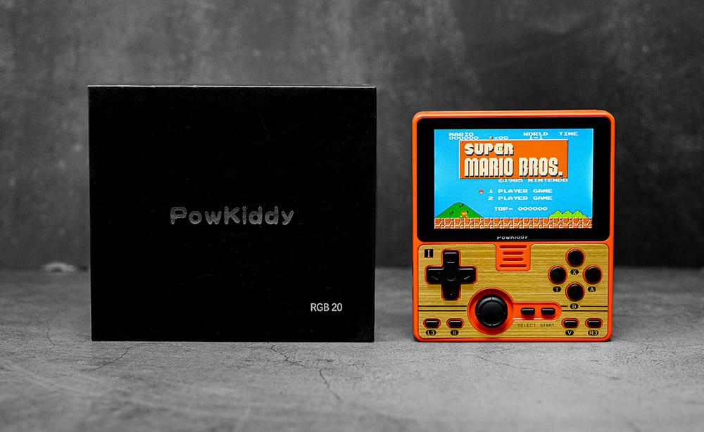 中華ゲーム機「Powkiddy RGB20」 実機レビュー