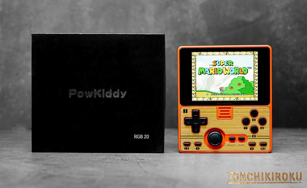Powkiddy RGB20 レビュー