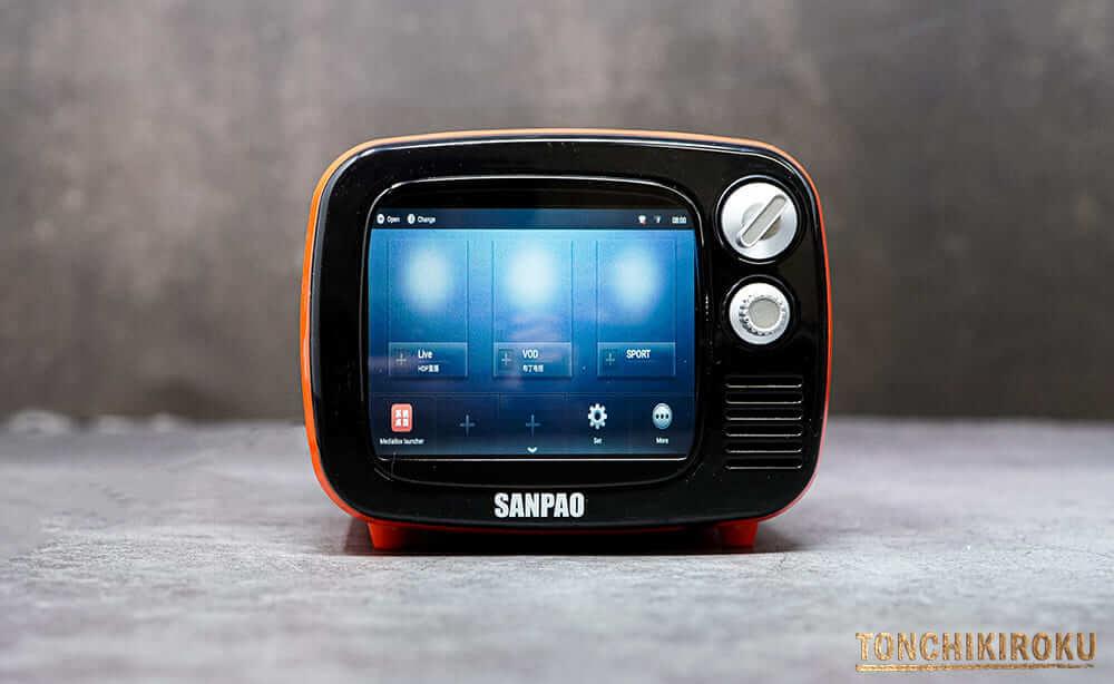 SANPAO Android搭載ミニチュアディスプレイ