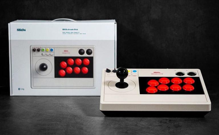 8BitDo Arcade Stick 実機レビュー