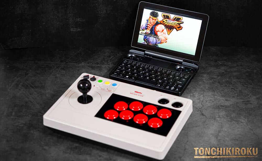 8BitDo Arcade Stick PCゲーム
