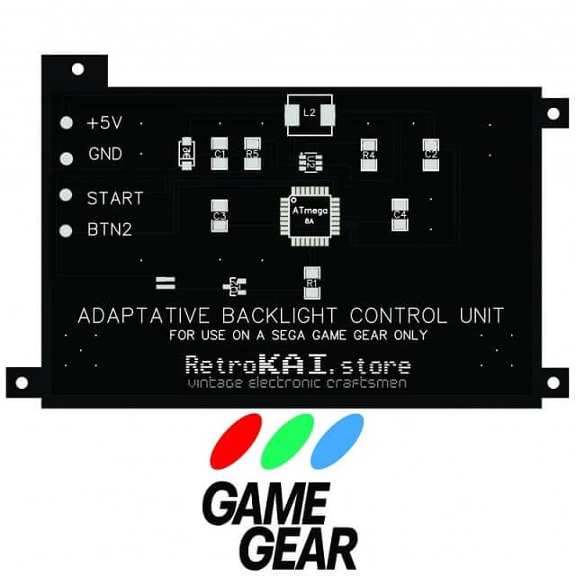 ゲームギア LED化モジュール