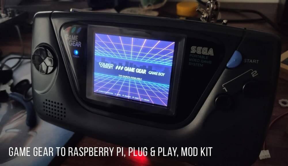 ゲームギア RasberryPiモジュールキット