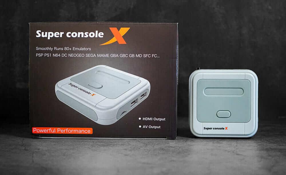 中華ゲーム機「Super console X」 実機レビュー