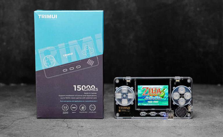 中華ゲーム機「TRIMUI MODEL S」 実機レビュー