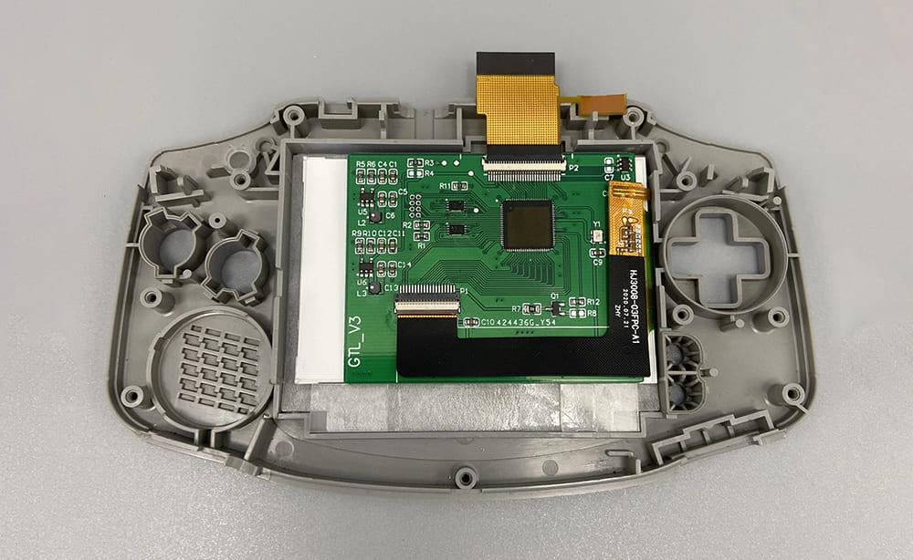 ゲームボーイアドバンス IPS液晶交換キット 輝度調整