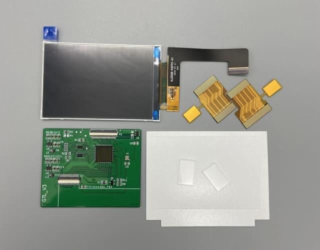 ゲームボーイアドバンス IPS液晶交換キット タッチ輝度調整機能