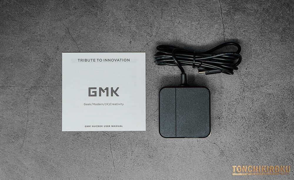 GMK NucBox 付属品