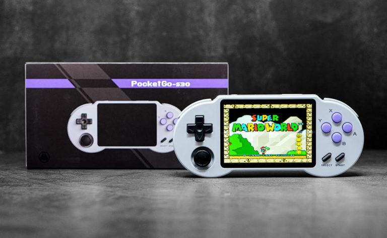 中華ゲーム機「PocketGo S30」実機レビュー