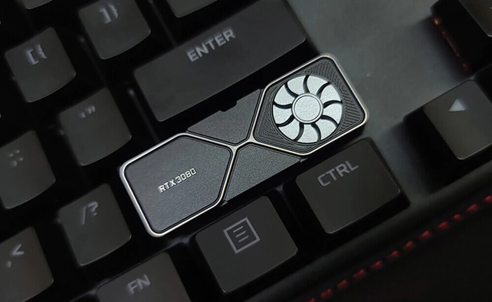 GeForce RTX3080 キーキャップ