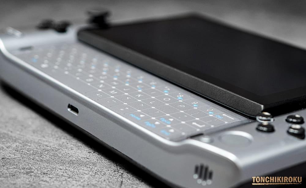 GPD WIN3 スライド式キーボード