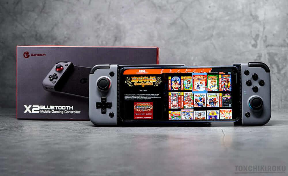 モバイルゲームコントローラー「GameSir X2 Bモバイルゲームコントローラー「GameSir X2 Bluetooth」レビューluetooth」レビュー