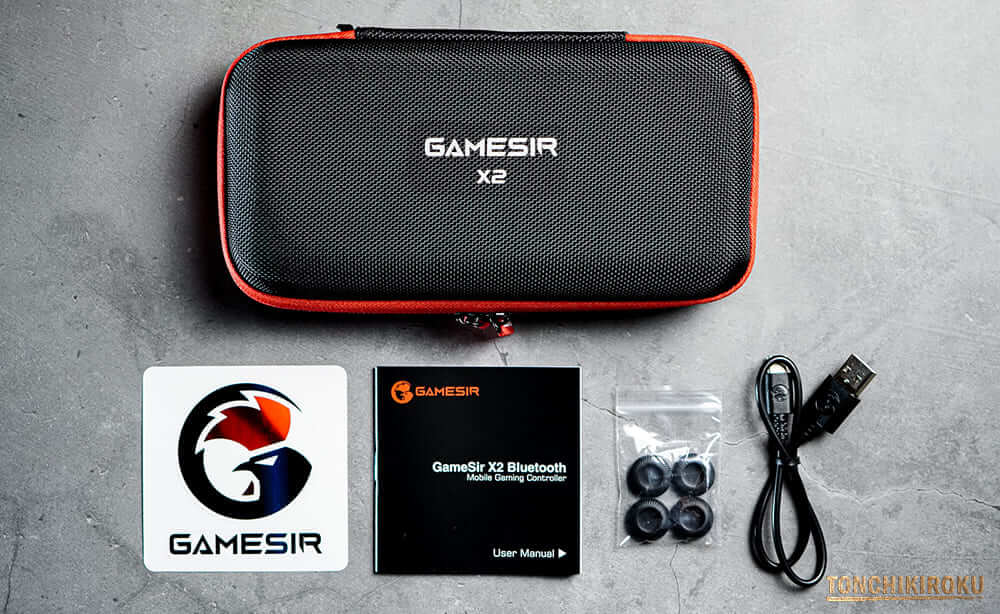GameSir X2 Bluetooth 付属品