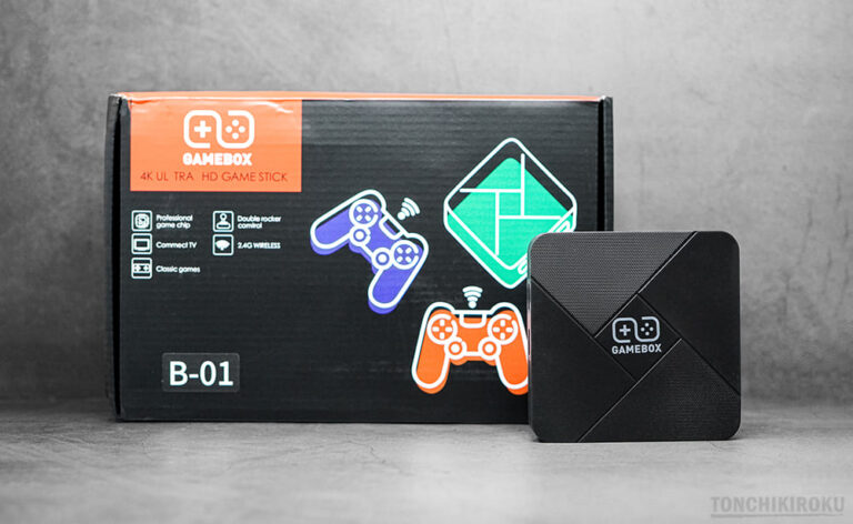 GAMEBOX G5 実機レビュー