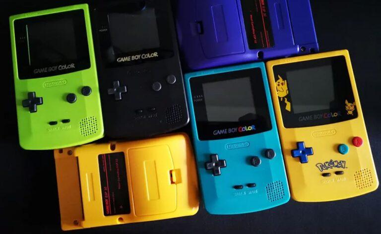 Gameboy Color GBC ESP32