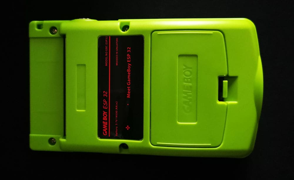 GameBoy ESP 32