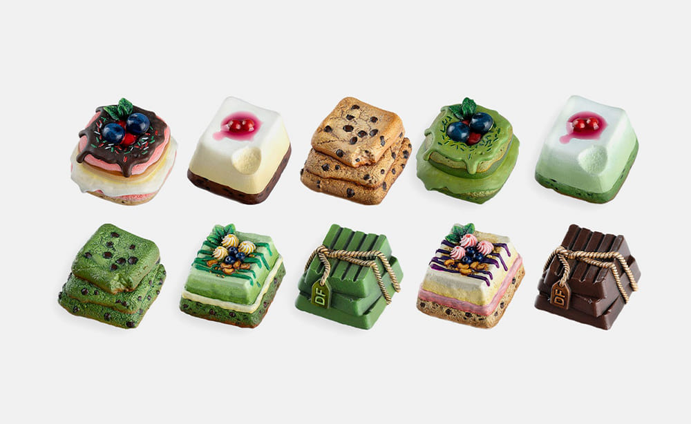 Dwarf Factory The Pastry House Artisan Keycap