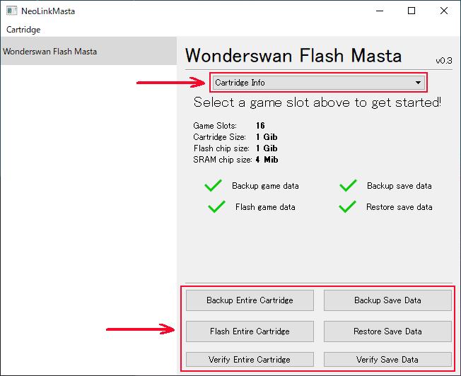 Flash Masta ユーティリティ